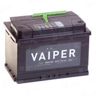 Аккумулятор VAIPER (75 Ah) 580 А, 12 V Обратная, R+ 0