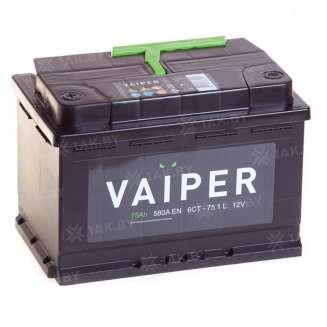 Аккумулятор VAIPER (75 Ah) 580 А, 12 V Прямая, L+ 0