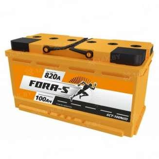 Аккумулятор FORA-S (100 Ah) 820 A, 12 V Обратная, R+ 0