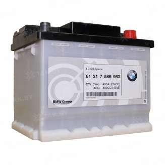 Аккумулятор BMW (55 Ah) 480 A, 12 V Обратная, R+ 0