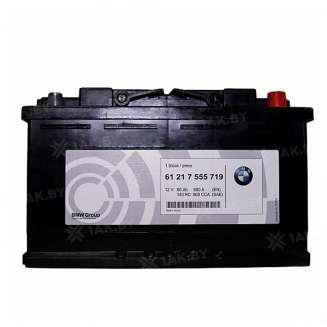 Аккумулятор BMW (80 Ah) 800 A, 12 V Обратная, R+ 0