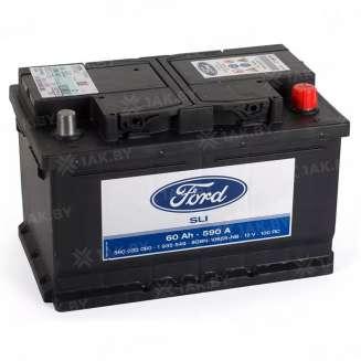 Аккумулятор FORD (60 Ah) 590 A, 12 V Обратная, R+ 0