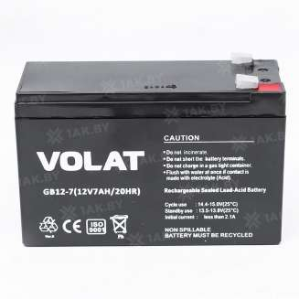 Аккумулятор VOLAT (7 Ah) , 12 V 0