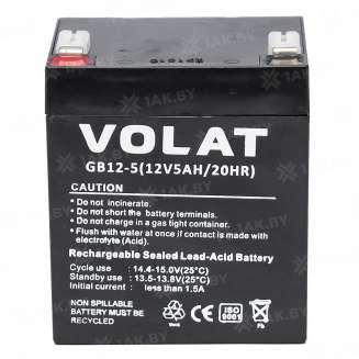 Аккумулятор VOLAT (5 Ah) , 12 V 0