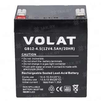 Аккумулятор VOLAT (4.5 Ah) , 12 V 0