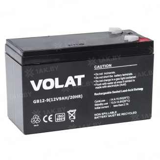 Аккумулятор VOLAT (9 Ah) , 12 V 0