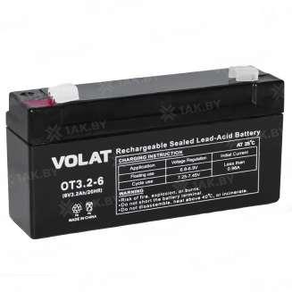 Аккумулятор VOLAT (3.2 Ah) , 6 V 0