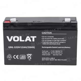 Аккумулятор VOLAT (12 Ah) , 6 V 0