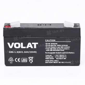 Аккумулятор VOLAT (1.3 Ah) , 6 V 0