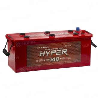Аккумулятор HYPER (140 Ah) 900 A, 12 V Обратная, R+ 0