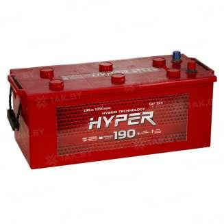 Аккумулятор HYPER (190 Ah) 1250 A, 12 V Обратная, R+ 0
