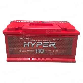 Аккумулятор HYPER (110 Ah) 930 A, 12 V Обратная, R+ 0