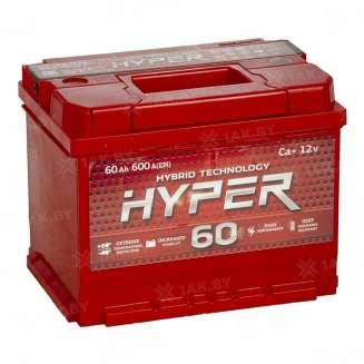 Аккумулятор HYPER (60 Ah) 600 A, 12 V Обратная, R+ 0