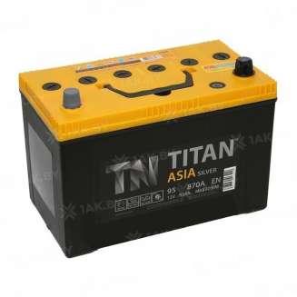 Аккумулятор TITAN (95 Ah) 770 А, 12 V Прямая, L+ 0