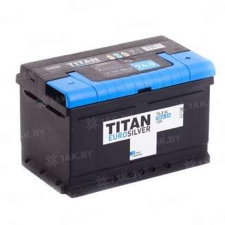 Аккумулятор TITAN (74 Ah) 700 A, 12 V Обратная, R+ 0