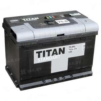 Аккумулятор TITAN (75 Ah) 700 A, 12 V Обратная, R+ 0