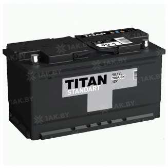 Аккумулятор TITAN (90 Ah) 780 A, 12 V Обратная, R+ 0