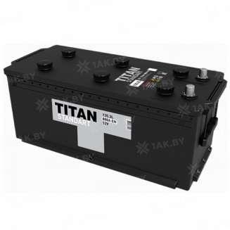 Аккумулятор TITAN (135 Ah) 880 A, 12 V Прямая, L+ 0
