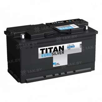 Аккумулятор TITAN (110 Ah) 950 A, 12 V Обратная, R+ 0