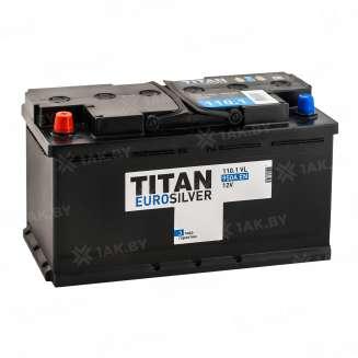 Аккумулятор TITAN (110 Ah) 950 A, 12 V Прямая, L+ 0