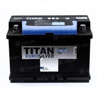 Аккумулятор TITAN (76 Ah) 730 A, 12 V Обратная, R+ 0