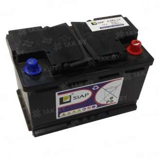 Аккумулятор Siap (52 Ah) , 12 V Обратная, R+ 0