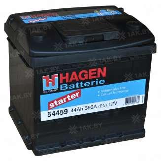 Аккумулятор HAGEN (44 Ah) 360 A, 12 V Обратная, R+ 0