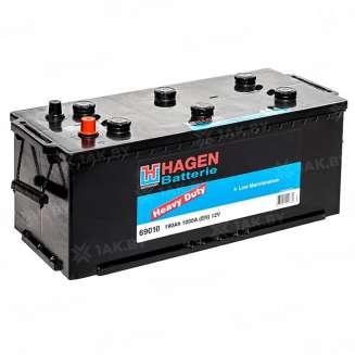 Аккумулятор HAGEN (190 Ah) 1000 A, 12 V Прямая, L+ 0