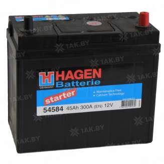 Аккумулятор HAGEN (45 Ah) 300 A, 12 V Обратная, R+ 0