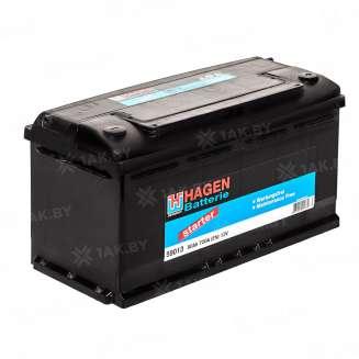 Аккумулятор HAGEN (90 Ah) 720 A, 12 V Прямая, L+ 0