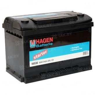 Аккумулятор HAGEN (65 Ah) 540 A, 12 V Обратная, R+ 0