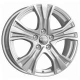 Литой диск Реплика КС673 (ZV Audi A4) КС673 7x17 5x112 DIA66,6 ET46 сильвер
