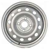 Штампованный диск Trebl 42E45S 4,5x13 4x114,3 DIA69,1 ET45 Silver