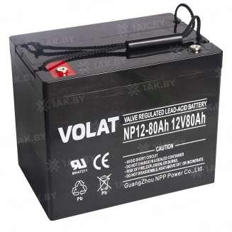 Аккумулятор VOLAT (80 Ah) , 12 V 0